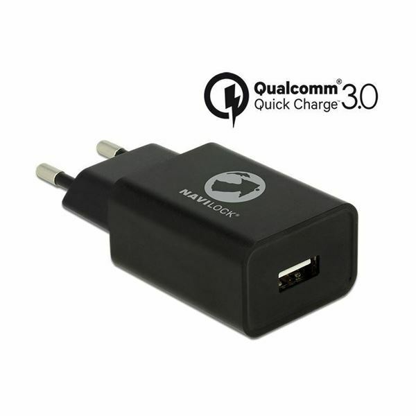 Navilock polnilec za telefon Qualcomm Quick Charge