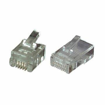 Slika RJ11 konektor 6p4k EFB (pak/100)