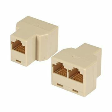Picture of RJ45 adapter triplex 2žx1ž EFB
