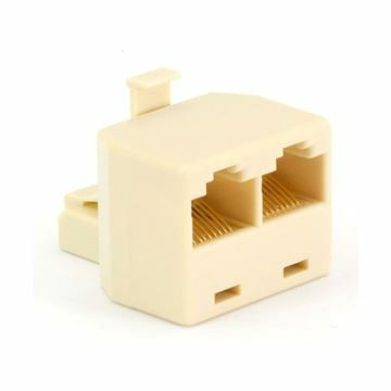 Picture of RJ45 adapter triplex UTP 2žx1m Mfico