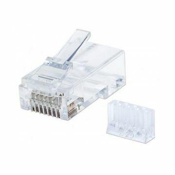 Slika RJ45 konektor CAT.6+ UTP trdi kabel Intellinet (pak/90)
