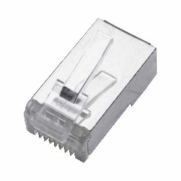 Slika RJ45 konektor FTP mehki kabel Digitus (2rez) (pak/10)