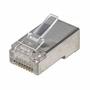 Slika RJ45 konektor FTP mehki kabel Intellinet (2rez) (pak/100)