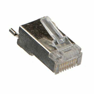 Slika RJ45 konektor FTP trdi kabel Ubiquiti (3rez) (pak/10) TC-CON