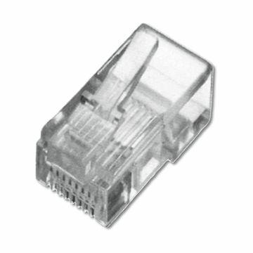 Picture of RJ45 konektor UTP trdi kabel Intellinet (3rez) (pak/10)