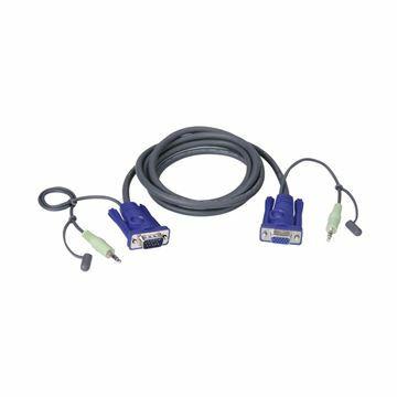 Slika Set kablov ATEN 2L-2402A VGA/AVDIO 1.8m