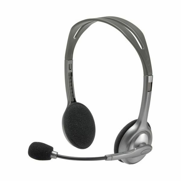 Logitech slušalke z mikrofonom H110 stereo