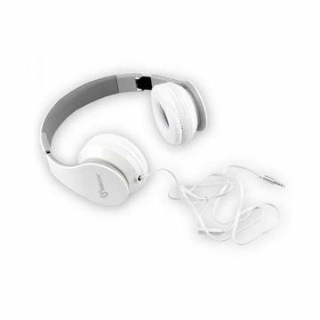 Slika Slušalke + mikrofon SBOX HS-501 bele