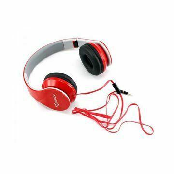 Slika Slušalke + mikrofon SBOX HS-501 rdeče