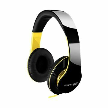 Slika Slušalke stereo SHP-250AJ črno/rumene Fantec