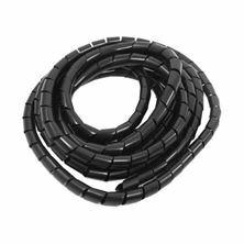 Slika Spenjalna cev Tons plastična fi 8mm črna 20m