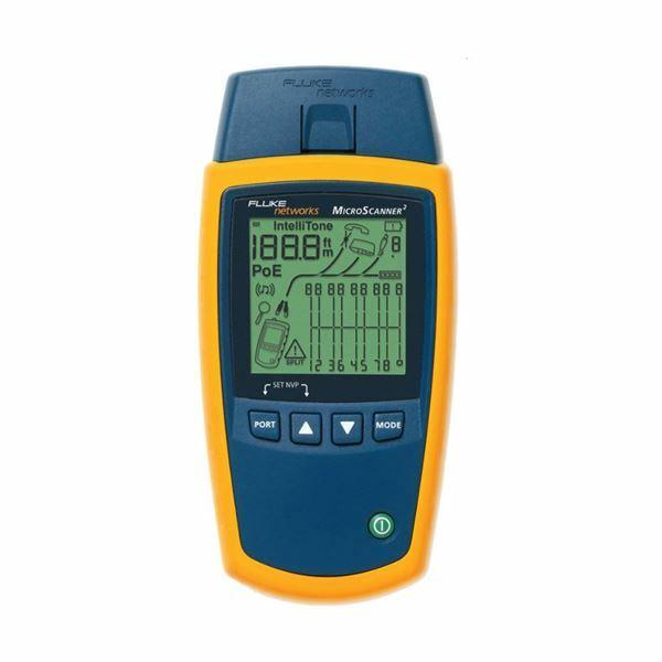 Picture of Tester mrežni Fluke MicroScanner2