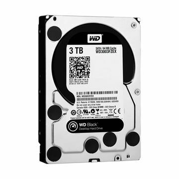 Picture of Trdi disk 9cm 3TB WD BLACK 7200 64MB, SATA III