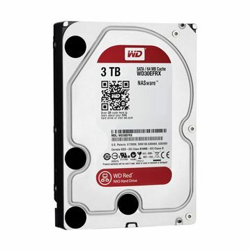 Slika Trdi disk 9cm 3TB WD RED IntelliPower 64MB, SATA III