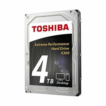 Picture of Trdi disk 9cm 4TB TOSHIBA X300 7200 (128MB SATA III-600)