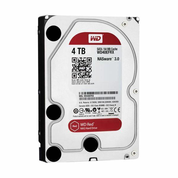 Trdi disk 4TB WD Red SATA III