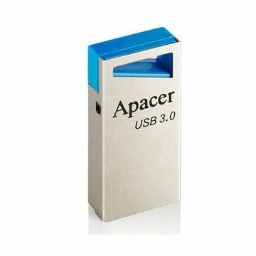 Slika USB 3.0 ključ     8Gb  AH155 APACER super mini, srebrno/moder
