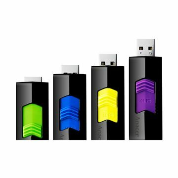 Slika USB ključ  16Gb  AH332 APACER črno/vijola