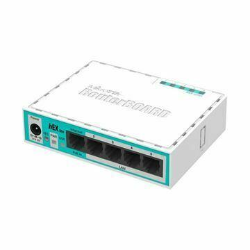 Slika Usmerjevalnik  5xRJ45 10/100 RB750r2 hEX lite Mikrotik
