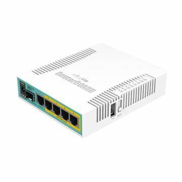 Slika Usmerjevalnik  5xRJ45 10/100/1000 RB960PGS hEX PoE Mikrotik