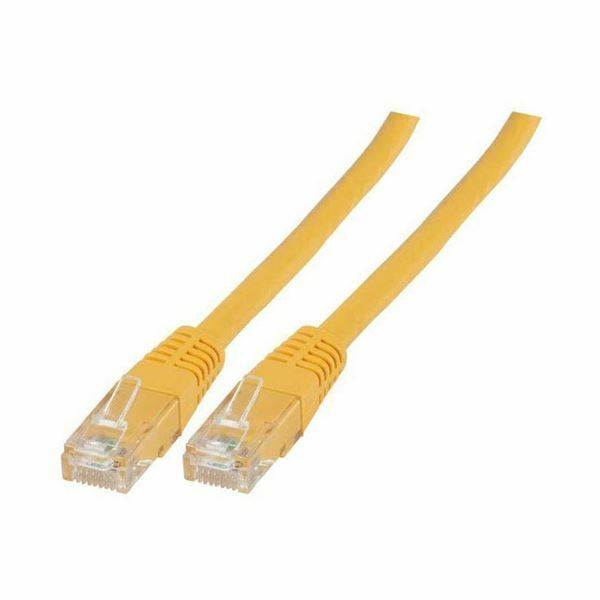 UTP kabel CAT6 0,5m rumen EFB