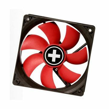 Picture of Ventilator  8x8x2,5cm 12v 3/4p Xilence RedWing