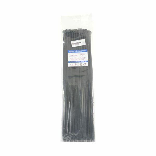 Picture of Vezice 450 x 4,8mm črne UV (pak/100) GW
