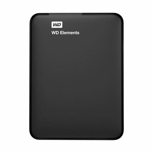 Zunanji disk 2TB WD Elements črn USB 3.0, WDBU6Y0020BBK-EESN