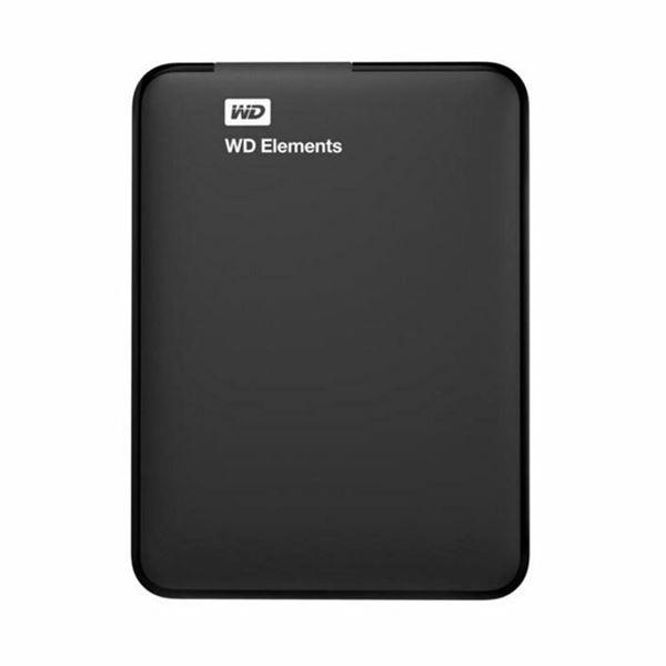 Zunanji disk WD Elements 1TB črn