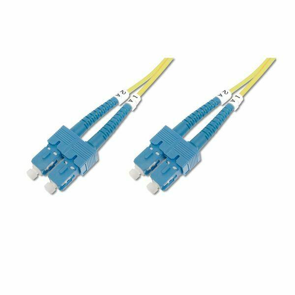 Optični kabel SM OM2 15m oranžen Digitus
