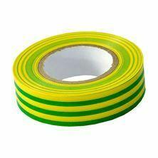 Slika Izolirni trak 19mm/20m zeleno/rumen