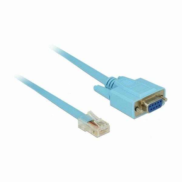 Serijski kabel RS232 DSUB 9 - RJ45 1m Delock