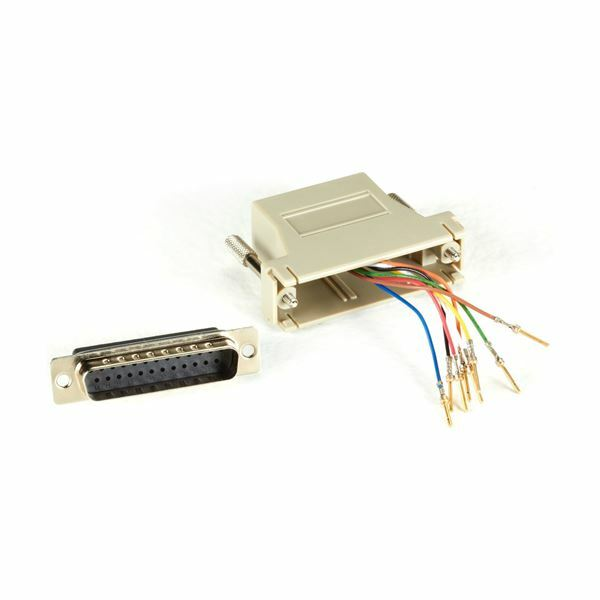Adapter DB25M-RJ45