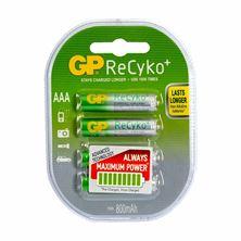 Polnilne baterije AAA-800 mAh Ni-Mh GP ReCyko