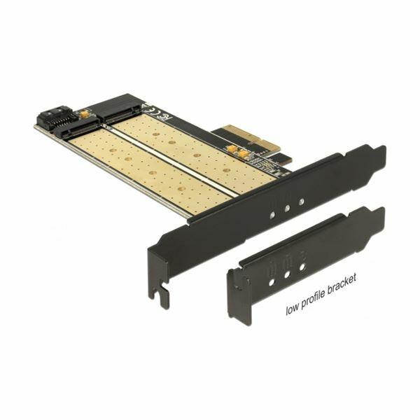 Kartica PCI Express kontroler NGFF NVMe Delock