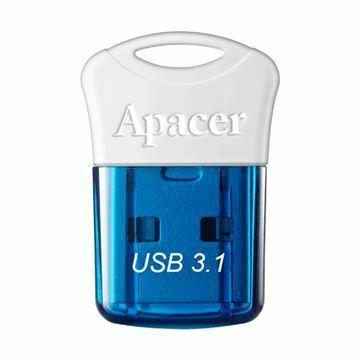Picture of USB 3.1 ključ    16Gb  AH157 APACER super mini, moder