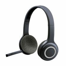 Slika Slušalke + mikrofon Logitech H600 USB Brezžične črne