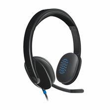 Slika Slušalke + mikrofon Logitech H540 stereo USB črne