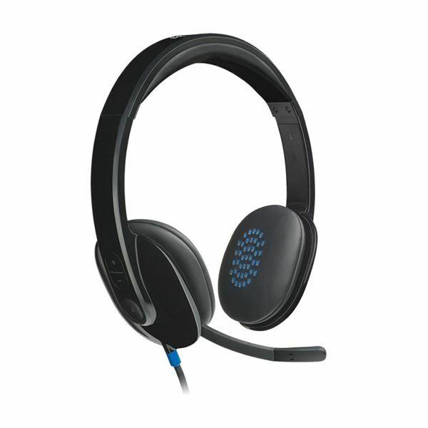 Logitech USB slušalke z mikrofonom H540 stereo