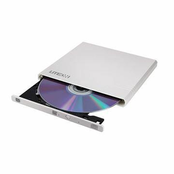 Slika Zunanji zapisovalnik Liteon EBAU108 DVD-RW 8x USB Ultra Slim bel