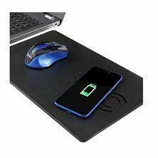 Slika Podloga za miško z QI brezžičnim polnilcem WC-063 SBOX