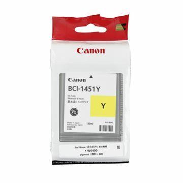 Picture of Črnilo CANON BCI-1451 RUMENO 0173B001AA