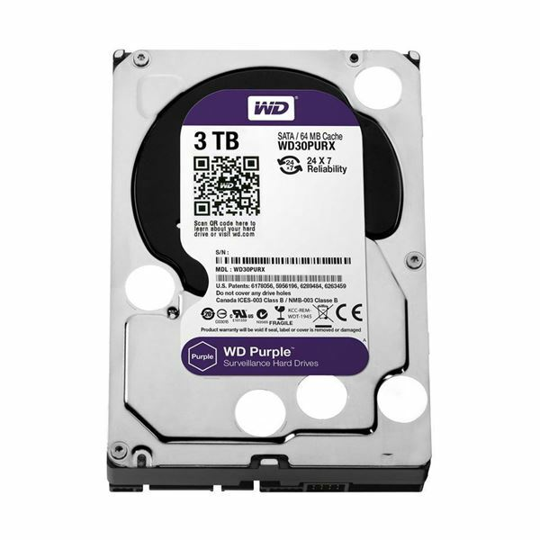 Trdi disk 3TB WD Purple SATA III
