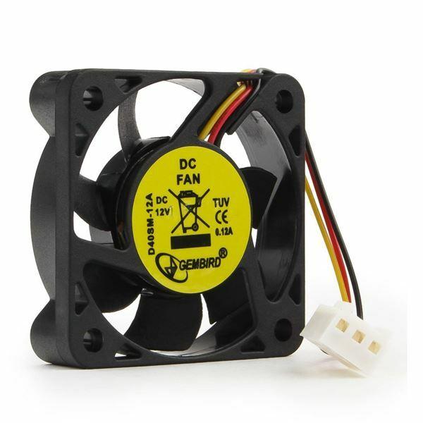 Ventilator 4x4x1cm 12v 3pin Gembird