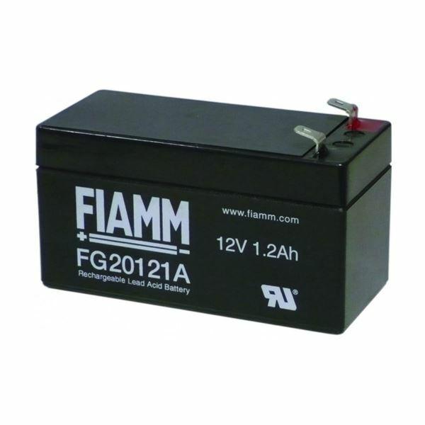 Akumulator FIAMM 12V/ 1.2 Ah