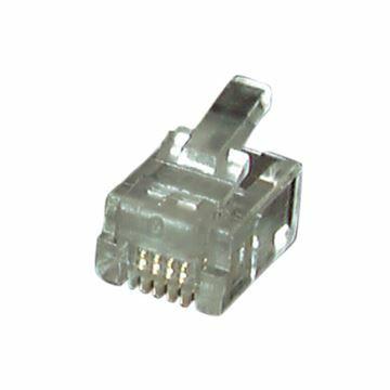 Picture of RJ11 konektor 6p4k EFB (pak/100)