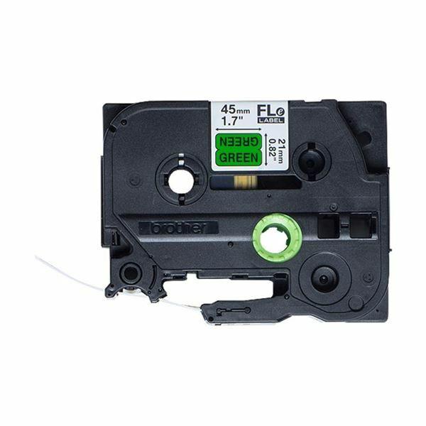 Picture of BROTHER FLE trak za PT zastavica zelen/črn 24mm