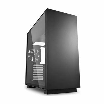 Slika Ohišje PC midi tower ATX PURE STEEL Sharkoon brez napajanja črn