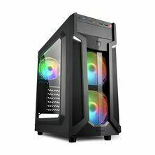 Picture of Ohišje PC midi tower ATX VG6-W RGB Sharkoon brez napajanja črn, RGB LED