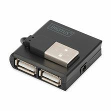 Hub USB-A žepni Digitus